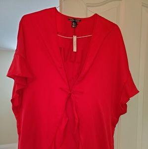 Victoria's Secret satin red robe (Love)